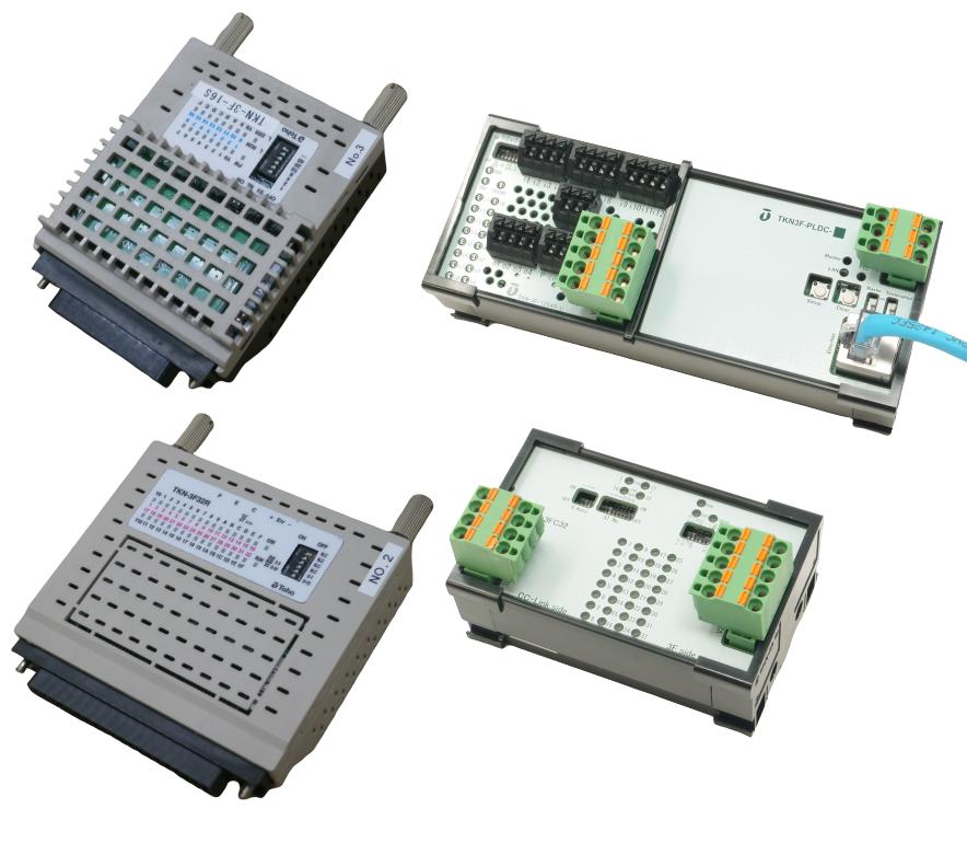 3線式電源供給対応リモートI/Oユニットのイメージ画像